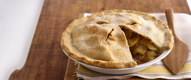 Gold Medal Flour- Web Recipes: Scrumptious Apple Pie (r36596-4)